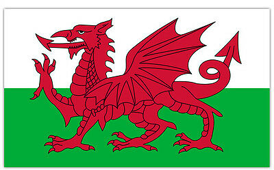 Wales Quality Large 5ft x 3ft Flag Wales Welsh Flag Large Dragon Flag