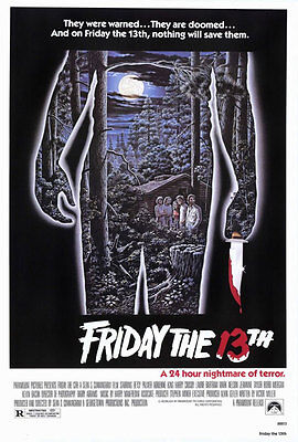 """Friday The 13th Poster - 24"""" x 36"""""""