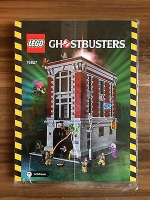 Lego 75827 Ghostbusters Feuerwehr Haus Bauanleitung (only instruction)