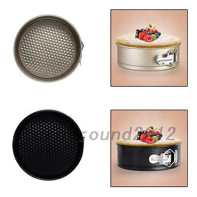 Home Kitchen 8 inch Non-stick Springform Cake Pan Bakeware Mould Tool New