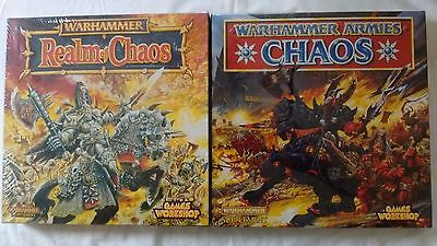 NEW! Warhammer Fantasy Battles (WFB) Chaos Bundle (Chaos and Realm of Chaos)