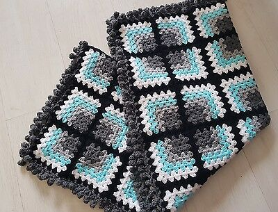 lovely hamdmade crochet baby blanket