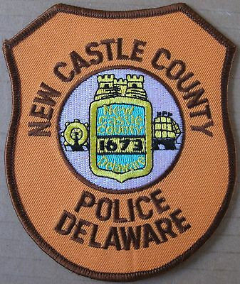 NEW CASTLE COUNTY POLICE DELAWARE SHOULDER PATCH - NEW Collector's Item