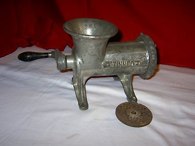 Meat Grinder ENTERPRISE No. 22 Cast Iron Tinned