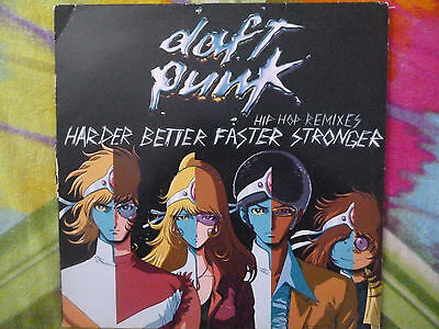 "DAFT PUNK HARDER BETTER (HIP HOP REMIXES) 12"" Virgin ‎– 7243 5 46014 6 0"