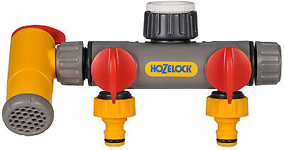 Hozelock 2250 Flowmax 3 Way Tap Connector