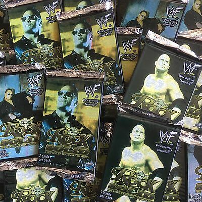 35 Packs NEW Rock Solid Trading Cards Dwayne Johnson WWF WWE by Comic Images The