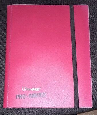 Ultra-Pro 9 pocket per page binder, several colours available