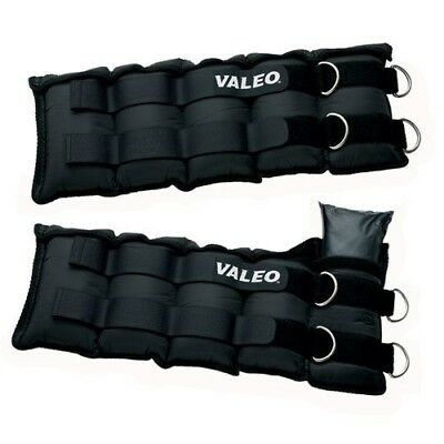 Valeo AW20 Adjustable Ankle / Wrist Weights (10-Pounds Each, 20-Pound Total)