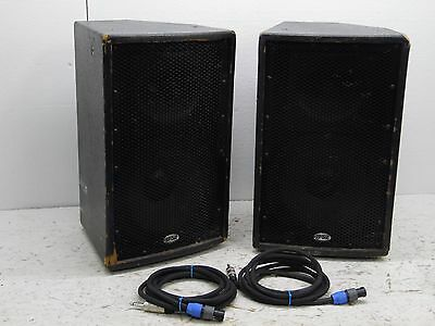 B-52 Pro Matrix 10in monitors V2 with Speaker Cables read