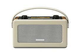 Roberts Vintage DAB/DAB+/FM RDS Portable Radio with Built in Battery Charger