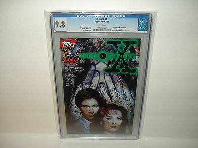 The X-Files #1   CGC 9.8  First Appearance of Mulder & Scully  White pages