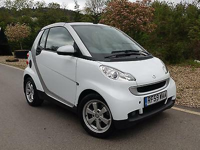 2009 Smart fortwo 1.0 ( 84bhp ) Passion Cabriolet Convertible White