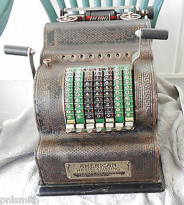 American Adding And Listing Machine American Can Co. Pat. 1912 Parts or Repair