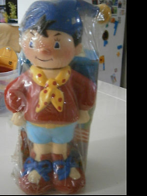 NODDY VINTAGE BUBBLE BATH FIGURE 25cm TALL WITH BOXED SOAP LICENSED PRODUCT