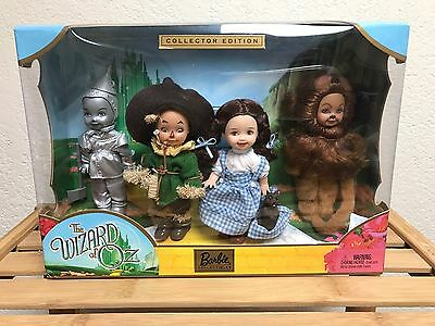 Kelly and Friends The Wizard of Oz Giftset 2003 Barbie Doll