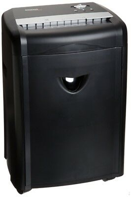 12-Sheet High-Security Micro-Cut Paper CD Credit Card Shredder Pullout Basket