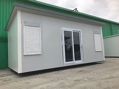 6 x 3m Portable Office/Studio/Granny Flat/Cabin/ Storage Room/ Donga/ Modular