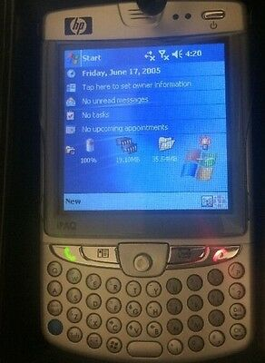 HP iPaq HW6515 Mobile Messenger Smartphone HW6500 Series with Charger