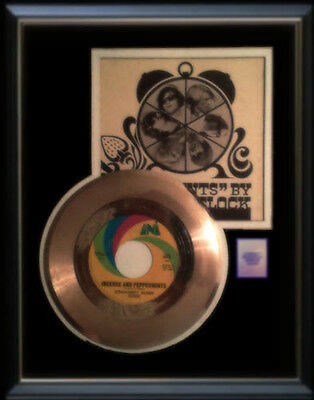Strawberry Alarm Clock Incense And Peppermints  Rare Gold Record Disc  45 Rpm