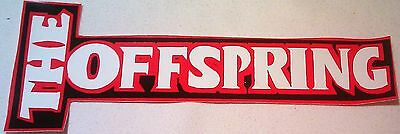 """The Offspring 11.75""""x4.5"""" STICKER DECAL deadstock new old stock"""