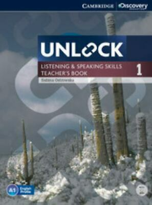 Unlock Level 1 Listening And Speaking Skills Teacher's Book With Dvd (cambrid...