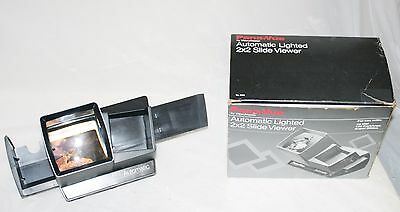 """View-Master Pana-Vue Automatic Lighted 2"""" x 2"""" Stack Slide Viewer in Box - VGUC"""