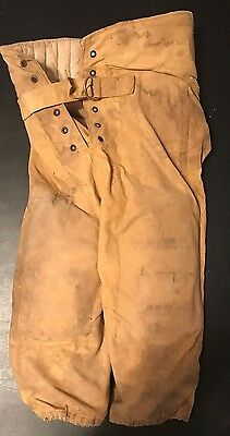 Vintage Youth Football Pants w/ Buckle & Pads