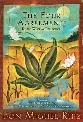 The Four Agreements Toltec Wisdom Collection: 3-Book Boxed Set: By Ruiz, don ...