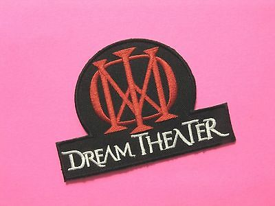 Dream Theater New Stitched Patch Uk Import Iron - On