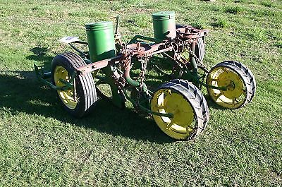John Deere Model 290 Two Row Corn Planter