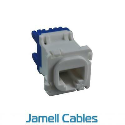 CAT6 RJ45 Network Insert White (100 Pack)