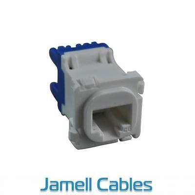 CAT6 RJ45 Network Insert White (20 Pack)