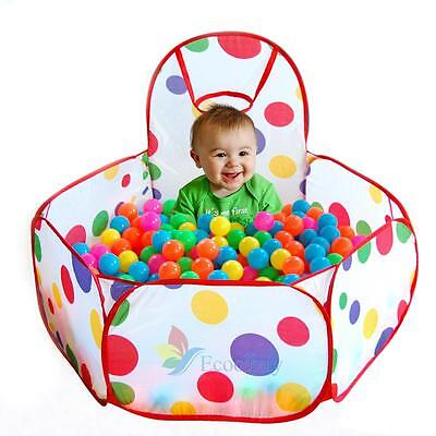 Foldable Kid Baby Outdoor Indoor Game Play Children Toy Tent Ocean Ball Pit Pool