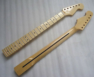 New  Maple 22 Fret Guitar Neck   For  ST Stratocaster Repair parts