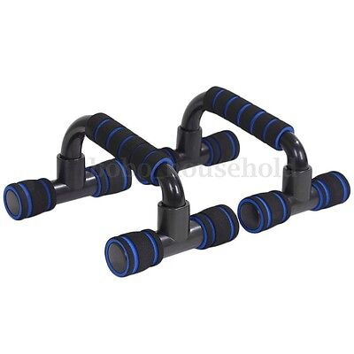 2X Foam Handles Push Up Bars Press Pull Up Stand Home Exercise Workout Gym Chest