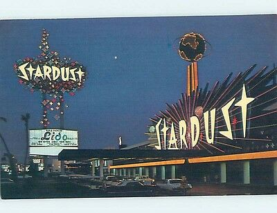 Unused Pre-1980 MARQUEE SIGN AT STARDUST CASINO HOTEL Las Vegas Nevada NV B0173
