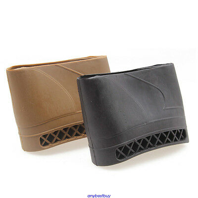 Rifle Shotgun Slip on recoil Pad Butt Gun Accessories Protector Stock Rubber New