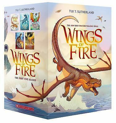 Wings of Fire Boxset, Books 1-5 (Wings of Fire): By Sutherland, Tui T.