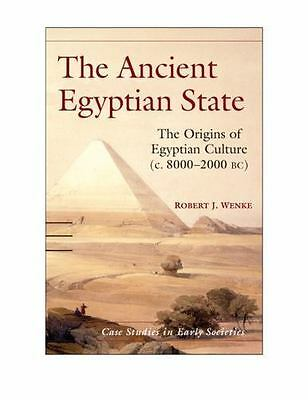 The Ancient Egyptian State: The Origins Of Egyptian Culture (c. 8000-2000 Bc)...