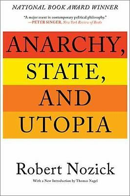 Anarchy, State, and Utopia: By Nozick, Robert