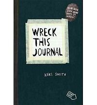 Wreck This Journal (black) Expanded Ed.: By Keri Smith