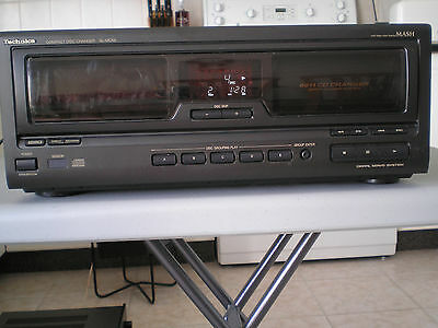 Technics stereo Compact Disc Changer SL-MC59, 60 + 1 Disc