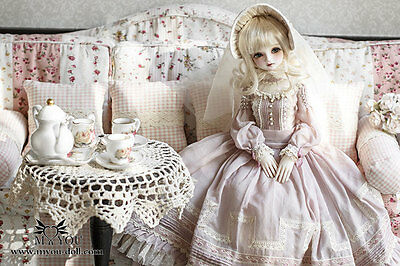 Delia Outfit - 1/4 BJD Doll Clothes; Pink pricess  [MYOU DOLL]