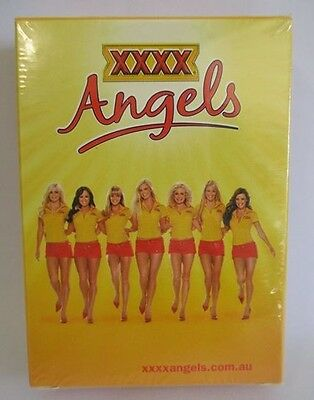 XXXX Beer brand new sealed deck of Angels playing cards for home bar collector
