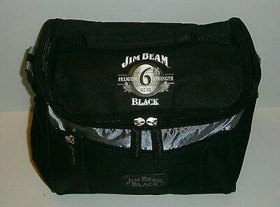 Jim Beam Black Bourbon new insulated bottle can cooler carry bag with strap