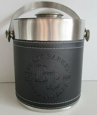 Bundaberg Bundy Rum new black barrel ice bucket for home bar, pub or collector
