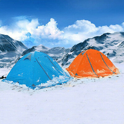 2 Person Portable Folding Waterproof Tent 4 Seasons Tent for Outdoor Camping