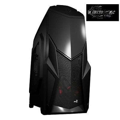 Aerocool Cruisestar Advance Case Middle Tower Black EN58119