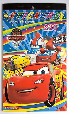 1 x cars Sticker Book  Party Room Sticker Books Gift for Kids